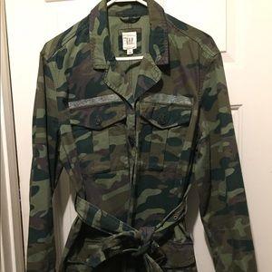 GAP Camouflage Print Jacket